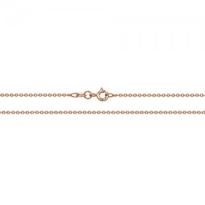 9ct Rose Gold Cable Chain
