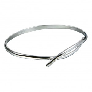 Hot Diamonds Alluring Silver Bangle