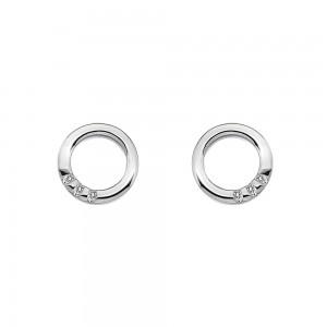 Hot Diamonds Halo Circle Earrings