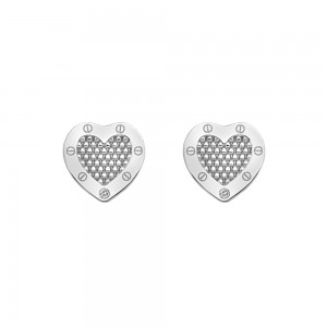 Hot Diamonds Lock in Love Stud Earrings