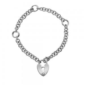 Hot Diamonds Love Lock Bracelet