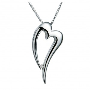 Hot Diamonds Lingering Silver Pendant
