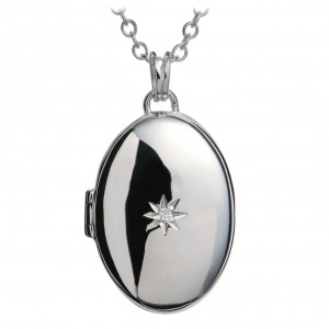 Hot Diamonds Inheritance Oval Locket
