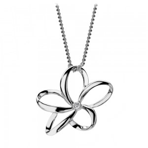 Hot Diamonds Paradise Silver Pendant