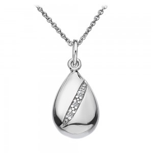 Hot Diamonds Shooting Stars Teardrop Pendant