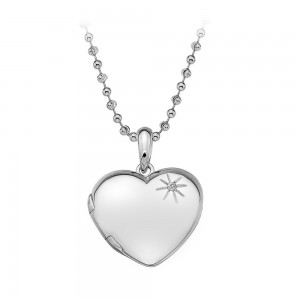Hot Diamonds Memoirs Heart Locket Pendant