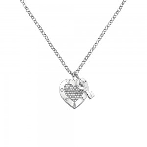 Hot Diamonds Lock in Love Pendant