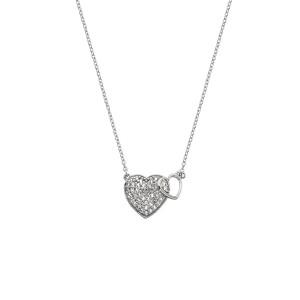 Hot Diamonds Togetherness Heart Pendant