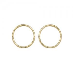9ct Gold 10mm Sleeper Earrings