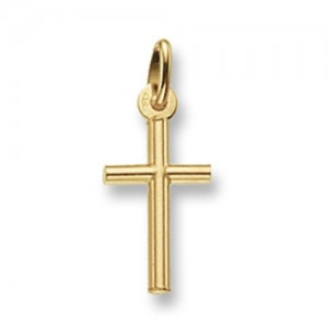 9ct Yellow Gold Small Cross Pendant