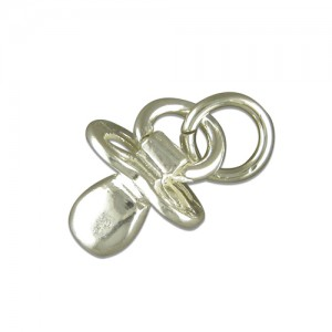 Sterling Silver Babies Dummy Charm