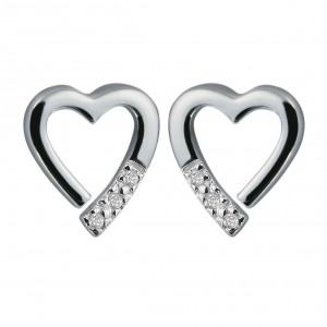 Hot Diamonds Memories Silver Earrings