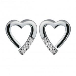 Hot Diamonds Memories Silver Earrings