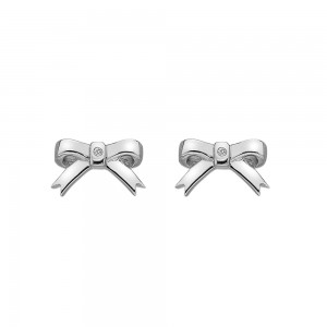 Hot Diamonds Ribbon Stud Earrings