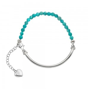 Hot Diamonds Festival Bracelet  - Turquoise