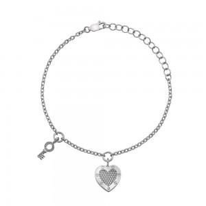 Hot Diamonds Lock in Love Bracelet