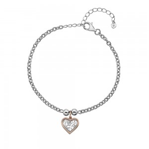 Hot Diamonds Faith Heart Bracelet