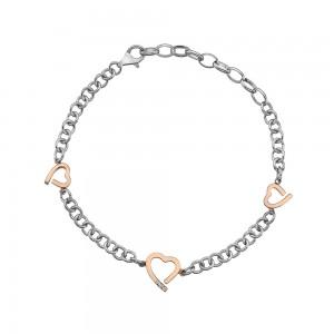 Hot Diamonds Amore Hearts Bracelet