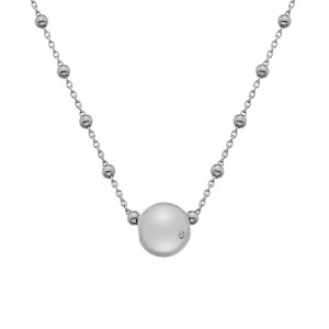 Hot Diamonds Globe Necklace