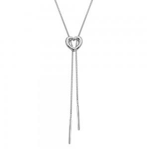 Hot Diamonds Everlasting Love Lariat Necklace