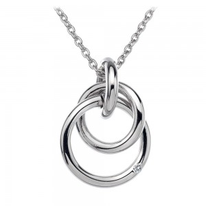 Hot Diamonds Eternity Interlocking Pendant