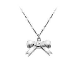Hot Diamonds Ribbon Pendant