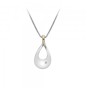 Hot Diamonds Journey Pendant