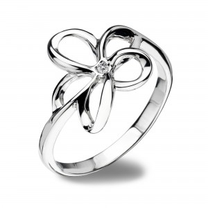 Hot Diamonds Sterling Silver Paradise Ring
