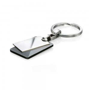 Fred Bennett Men's Stainless Steel Black PVD Keyring