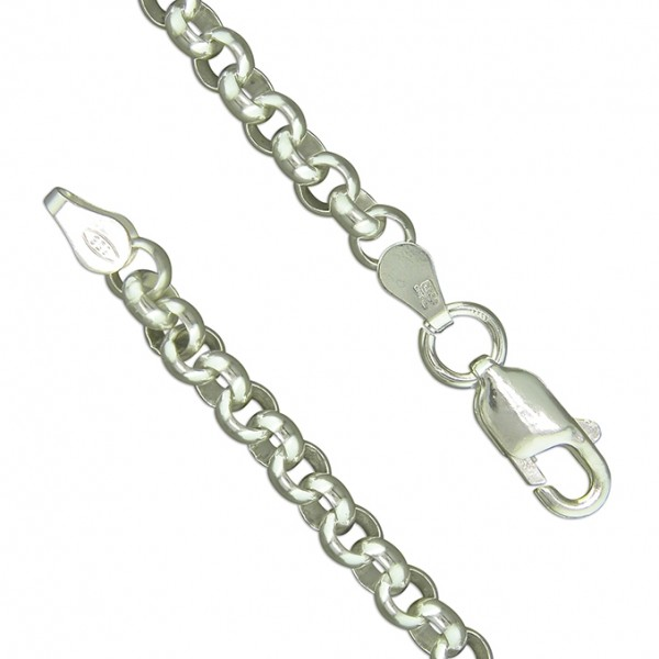 Sterling Silver Heavy Belcher Bracelet