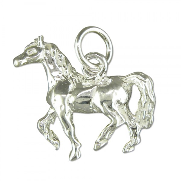 2651 Sterling Silver Horse Charm