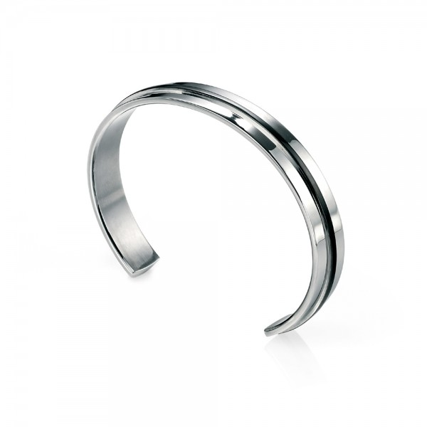 Fred Bennett Stainless Steel Cuff Bangle