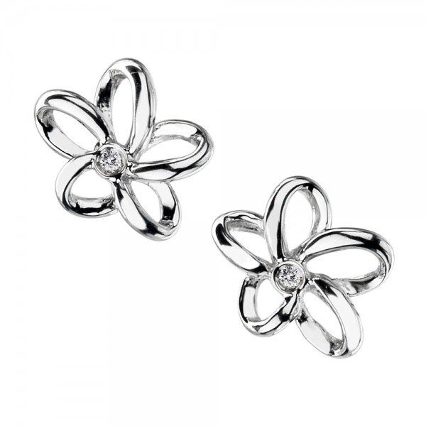 Paradise Open Petal Earrings
