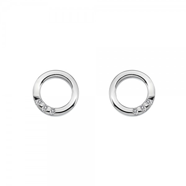 Hot Diamonds Halo Circle Earrings