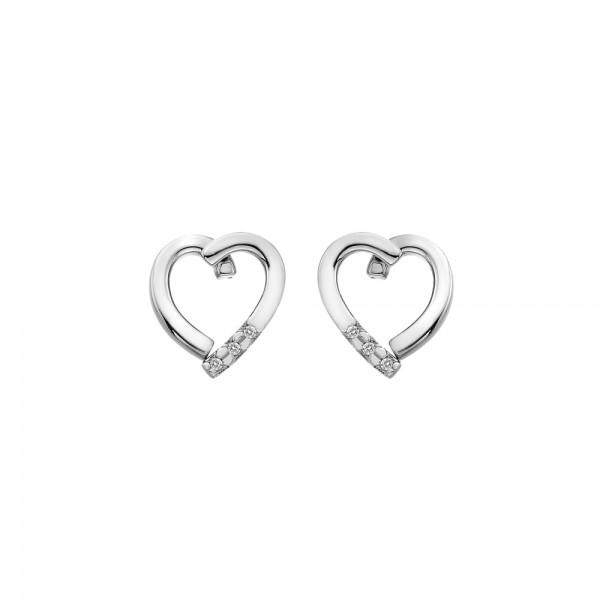 Hot Diamonds Glide Heart Earrings