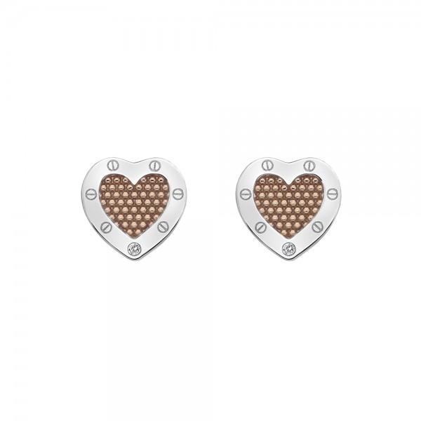 Hot Diamonds Lock in Love Stud Earrings