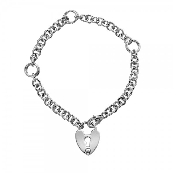 Hot Diamonds Love Lock Bracelet