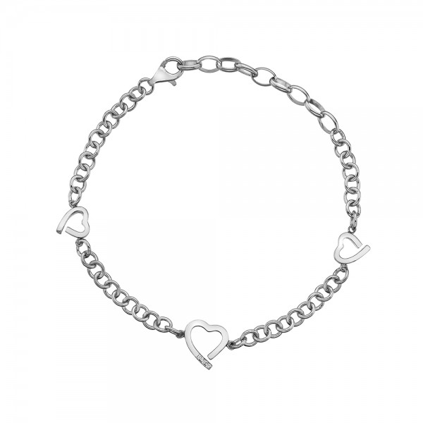 Hot Diamonds Amore Hearts Bracelet