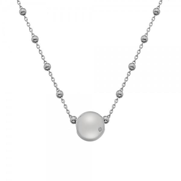 Hot Diamonds Globe Necklace