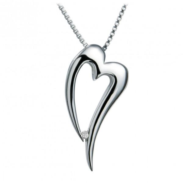 Hot Diamonds Lingering Silver Pendant