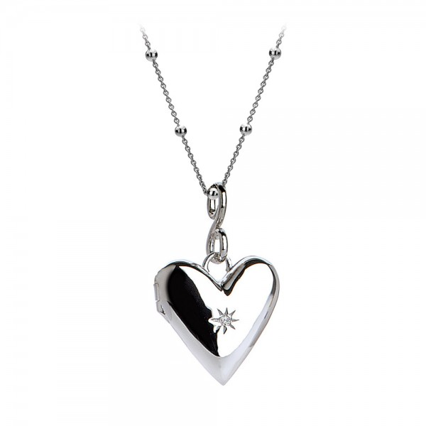 Hot Diamonds Spontaneous Heart Locket Pendant
