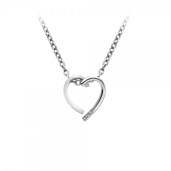 Hot Diamonds Glide Heart Pendant