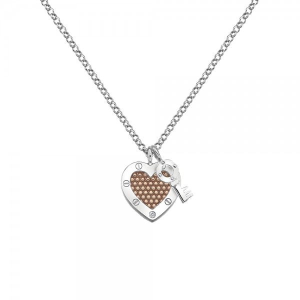 Hot Diamonds Lock in Love Pendant