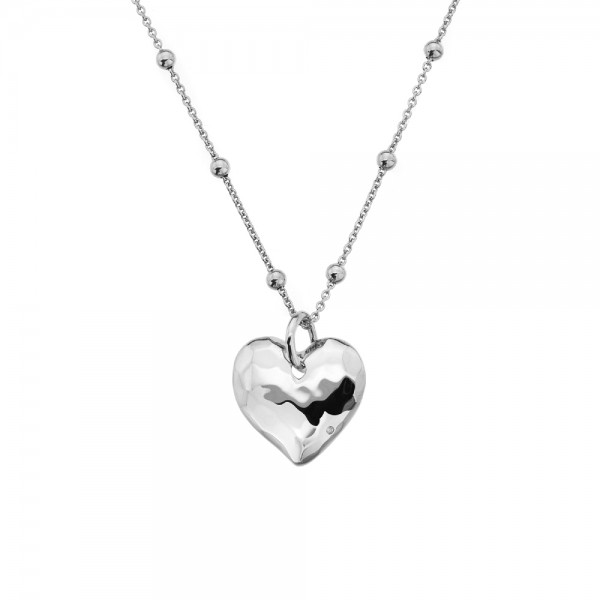 Hot Diamonds Sterling Silver Touch Heart Pendant