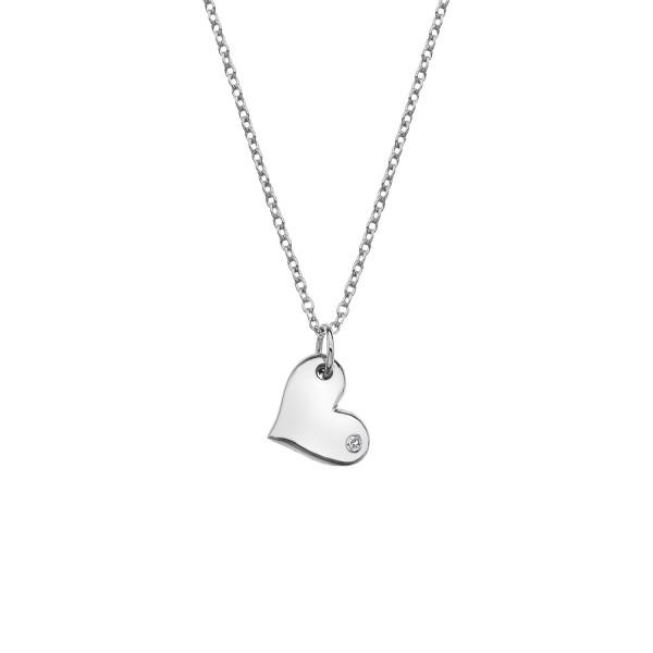 Hot Diamonds Thoughful Heart Pendant