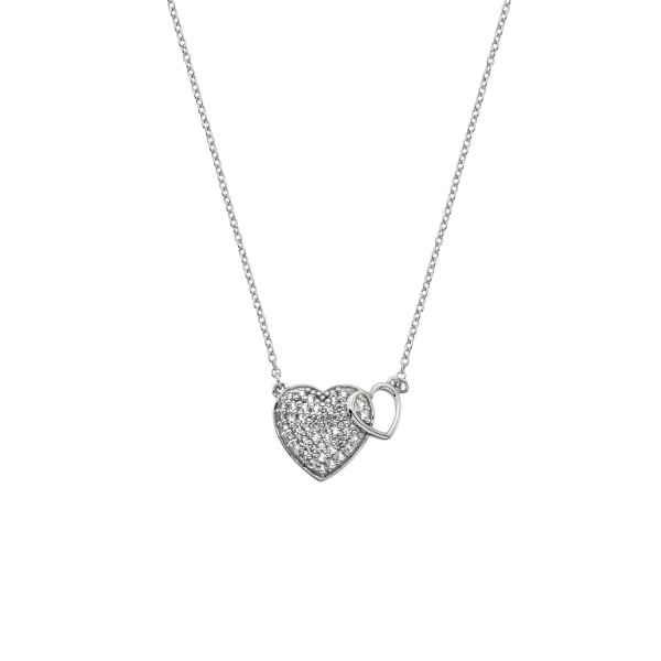 Hot Diamonds Togetherness Heart Pendant