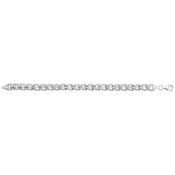 Sterling Silver Roller Ball Bracelet-G2641