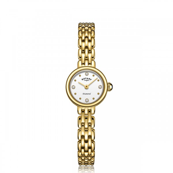 Rotary Ladies Diamond Balmoral Watch LB05153/02/D