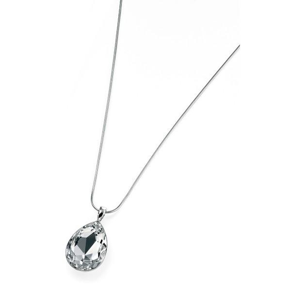 Sterling Silver Swarovski Crystal Pendant & Chain
