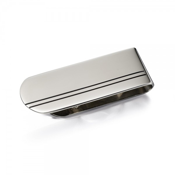 Fred Bennett Men's Stainless Steel Money Clip